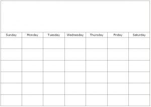 single-month-blank-calendar-template
